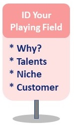 Information Product Ideas 1st stop - identify your playing field