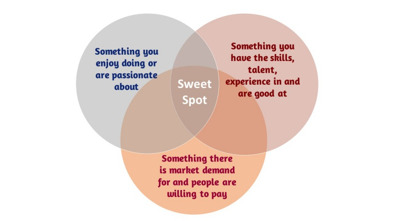identify your niche - find your sweet spot