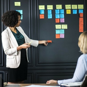 plan your information product - planning board